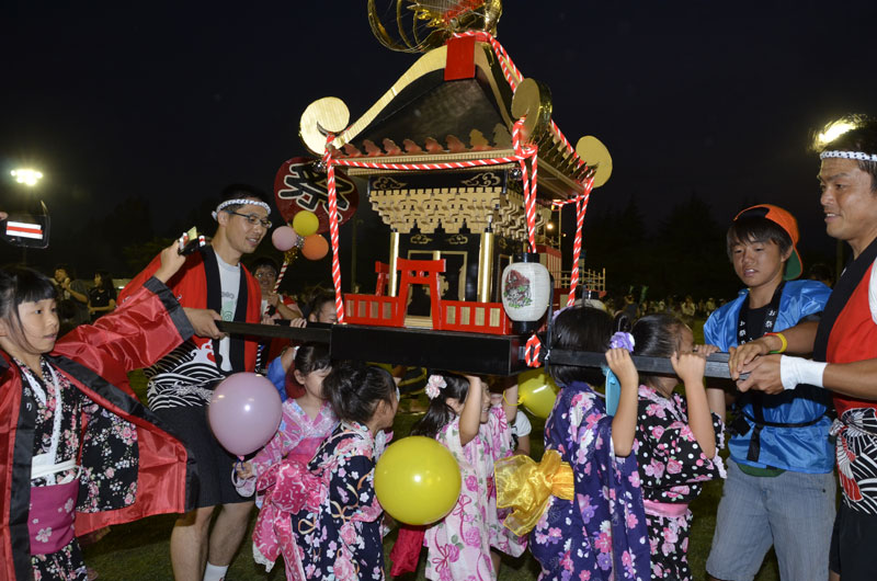 松戸駐屯地 盆踊り大会